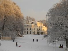 Beautiful park Sonsbeek Arnhem, the Netherlands