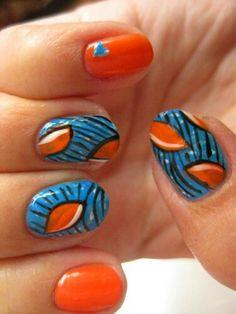 Ankara Nail Art