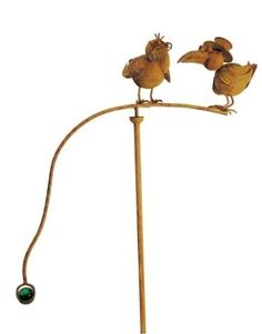 Red Carpet Studios Balancing Buds Large Yard Art Old Crows Our From Will Provide A Whimsical Touch To