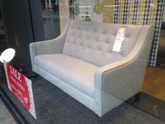 Charming Charles Small Sofa In Downtown Dogtooth (with Sprung Seat) Http://