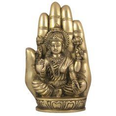 Amazon.com: Lakshmi Statue Brass Figurine: Home & Kitchen
