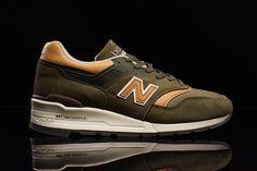 ec4c014c5a New Balance 997 (Olive Chestnut) - Sneaker Freaker