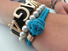 Monika: bracelet SCALLINI Napoli Blue