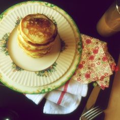 lemon poppy seed pancakes by joy the baker... also one of MY favorite muffins in pancake form