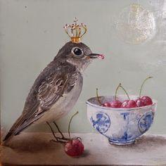 Bridget is painting ...: Cerises d'automne