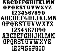 DXF Typography Fonts - DXF files Cut Ready CNC Designs - DXFforCNC.com,  It is magic elements of your garden and home decor. These files contain collection of most popular typographic fonts (Arial, Western, Century ...) delivered in dxf files cut ready cnc designs, these files can be used for you home number sign and for any numbers plate. All our dxf designs are ready for most CNC cutting machine and designed to be cut for plasma and laser cutters and can be scaled for any other CNC machine…