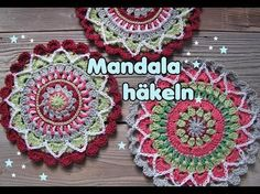 Kostenlose Häkelanleitung für ein wunderschönes Mandala von Carolines Welt