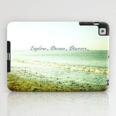 Explore. Dream. Discover. iPad Case by secretgardenphotography [Nicola] - $60.00