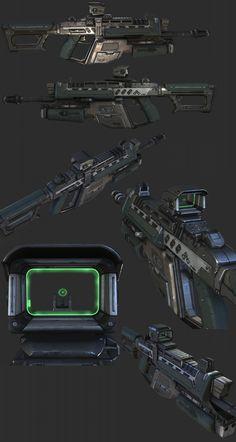 Vector .45 sub machine gun