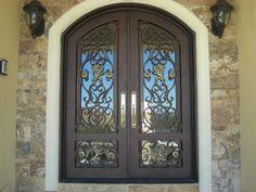 Beleo | Manhattan Iron Door Co.  #irondoors #custom #homedesign