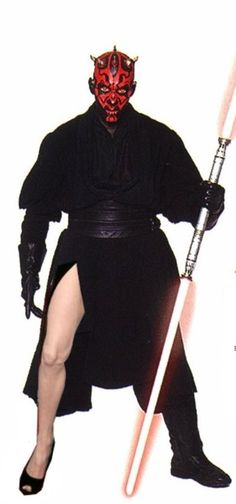 The Angelina Jolie, Darth Maul edition