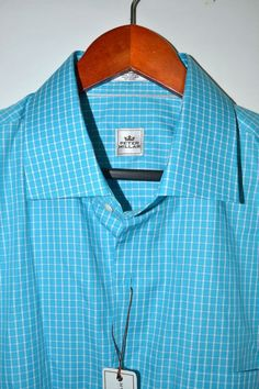 e59647936df2 Peter Millar Men s Check Twill Dress Shirt Size Large -  125 NWT   PeterMillar Dress Shirt