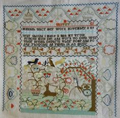Hannah Stacy- 1789 :: Sampler Browse :: The Essamplaire