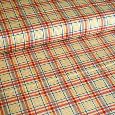 Seaside Plaid October Afternoon from Riley Blake by textilecloset