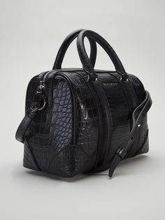 GIVENCHY - Lucrezia stamped crocodile bag 9