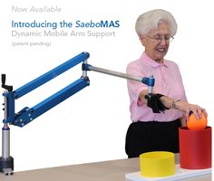 SAEBO rehabilitation products for individuals with a neurological injury