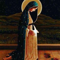 """""""Esperar com Maria a chegada de Jesus: O Tempo Santo do Advento""""  1️⃣ A palavra """"advento"""" tem origem latina e significa """"chegada"""", """"aproximação"""", """"vinda"""". No Ano Litúrgico, o Advento é um tempo de preparação para a segunda maior festa cristã: o Natal do Senhor. Neste tempo, celebramos duas verdades de nossa fé: a primeira vinda (o nascimento de Jesus em Belém) e a segunda vinda de Jesus (a Parusia). Assim, a Igreja comemora a vinda do Filho de Deus entre os homens (aspecto histórico) e vive…"""