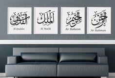 customized wall sticker islamic design muslim Allah decal art wallpaper home decor Wall Stickers Islamic, Teenage Room Decor, Islamic Wall Decor, Islamic Art Calligraphy, Arabic Calligraphy, Islamic Paintings, Prayer Room, Home Wall Art, Wall Decals
