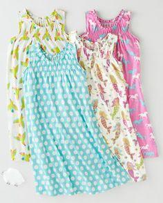 Smocked Ruffled Nightgown - Baby Girls & Girls