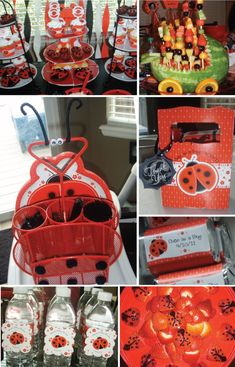 Celebrate a Little Lovebug With Modern Ladybug Baby Shower Decorations / Big Dot Of Happiness