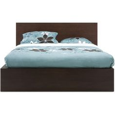 EQ3 Simple Bed Queen Earth II