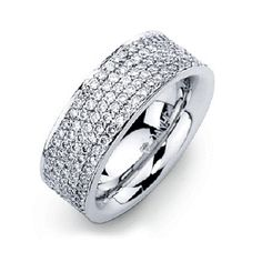 Love this. Very subtle. wedding rings for women