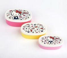 Hello Kitty Snack Case Set: Foodie