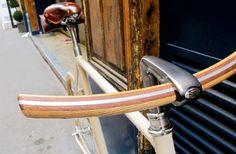 Fancy - Wooden bicycle handlebars