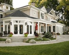 Porch Exterior Homes Design, Pictures, Remodel, Decor and Ideas