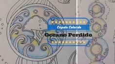 Oceano Perdido - Lost Ocean - Pintando a cúpula | Luciana Queiróz