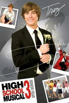 Maxi Poster 61cm x 91.5cm new and sealed Boys High School Musical 3