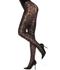 MARCMARCS   Lace Look 40 zwarte kanten panty   Nu 10% korting! - SOSHIN.nl Black Dahlia, Lace Tights, Stockings, Fashion, Fashion Styles, Socks, Moda, Fashion Illustrations, Panty Hose