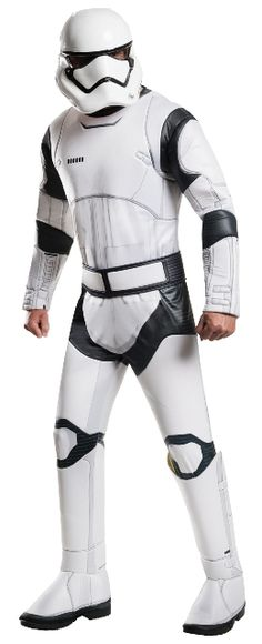 Star Wars Episode VII - Deluxe Stormtrooper Costume For Men  sc 1 st  Pinterest : stormtrooper costume for hire  - Germanpascual.Com