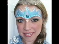 frozen pacepaint designs | Face Paint- Frozen Ideas
