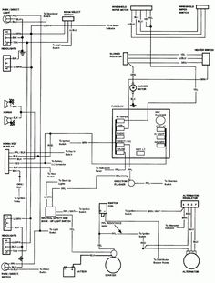 1984 Chevy Truck Fuse Box Diagram and Chevy Truck Fuse Box