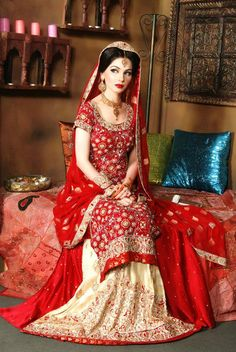Indian Wedding Dresses | Bridal Dresses, Indian And Pakistani Lehenga Choli Baraat Dresses
