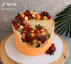 Cake Decorating Designs, Creative Cake Decorating, Cake Decorating Videos, Cake Designs, Cake Decorating Techniques, Fun Baking Recipes, Cake Recipes, Dessert Recipes, Super Cool Cakes