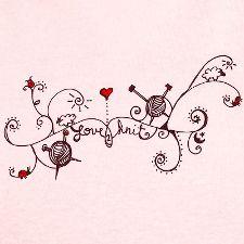 love knitting tattoo