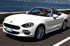 Pricing has been announced for Fiat's sporty new 124 Spider, which shares its platform with the Mazda MX-5 - full details here