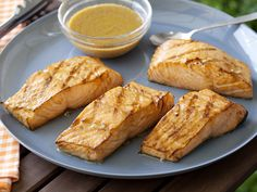 Asian Grilled Salmon from FoodNetwork.com