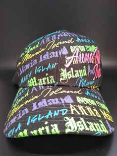 check out ad834 40db9 Destin Anna Maria Island Hat Multi-Color Adjustable by Marco One Size Fits  All