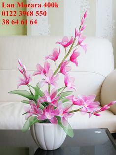 Click vào ảnh để xem kích thước lớn. Making Fabric Flowers, Flower Making, Diy Flowers, Paper Flower Wreaths, Flower Crafts, Paper Flowers, Rose Flower Arrangements, Stock Flower, Nylon Flowers