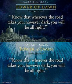 This Tower of Dawn quote is beautiful!