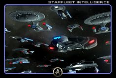 #STARFLEET INTELLIGENCE | #Starship Cover Board - Access the records of Earth and Federation Starfleet vessels | #StarTrek