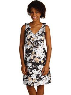 Tommy Bahama - Anemones Abound Ruffle Dress