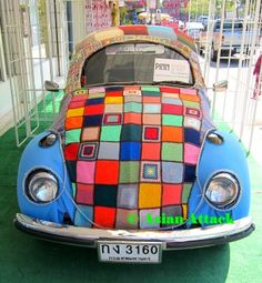 Volkswagen Beetle Winter Style How cool.... those of you that know me know how much I love VW's