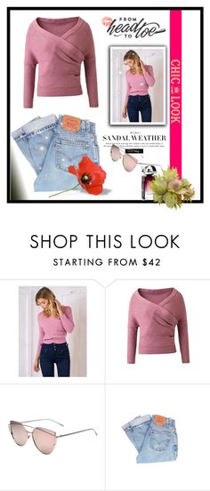 """""""Chiclookcloset 15/20"""" by erina-salkic ❤ liked on Polyvore featuring Levi's"""