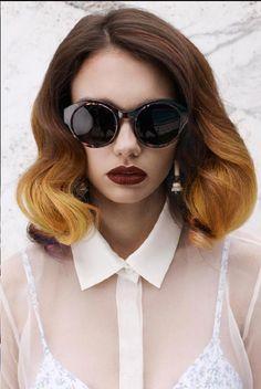 brown ombre hair | Medium Length Ombre Hair | Hair Colors Ideas
