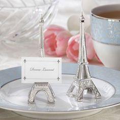 Le porte nom Tour Eiffel pour invités vos convives à s'installer