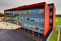 EWA architects. Barrow Hall College, Warrington. EQUITONE facade materials. equitone.com